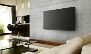 Як повісити телевізор на стіну з кронштейном
