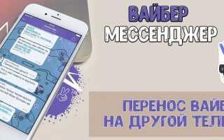 Як перенести Viber на інший телефон з історією листування
