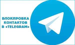 Як заблокувати або розблокувати контакт в Telegram