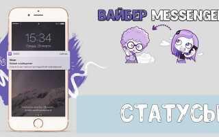 Що значить в Вайбере в мережі — статус в Viber