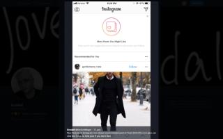 Як відключити рекомендовані публікації в Instagram