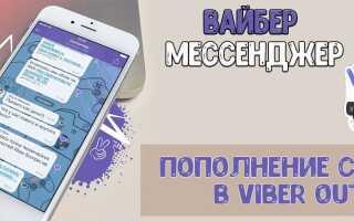 Viber — як можна поповнити рахунок в Viber Out