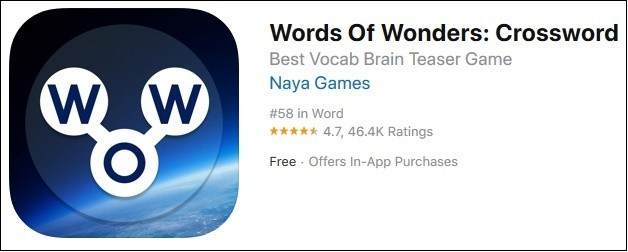 Words of Wonders iOS