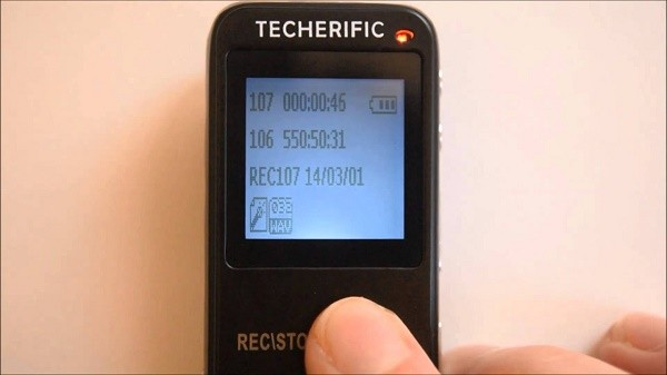 Techerific's Digital Voice Recorder